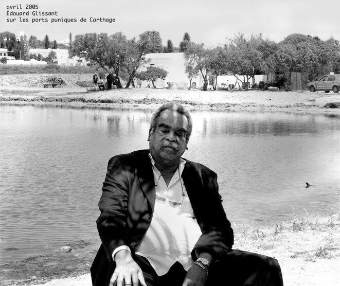 Édouard Glissant à Carthage, avril 2005.