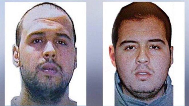 Khalid et Brahim El Bakraoui © DR - Interpol