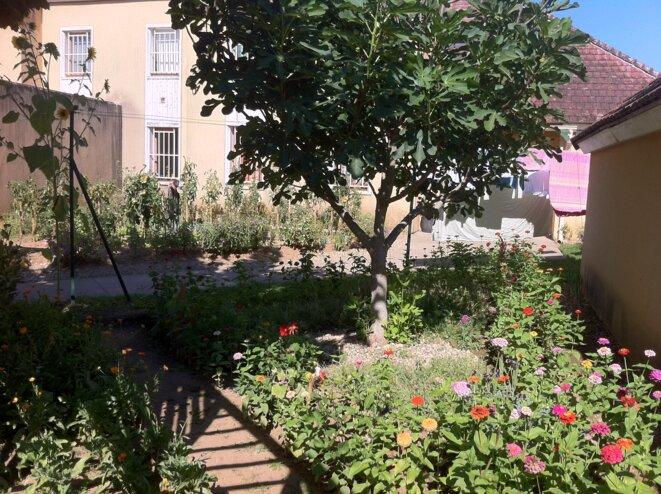 Des jardinets bordent les pavillons du nouveau centre © CGLPL