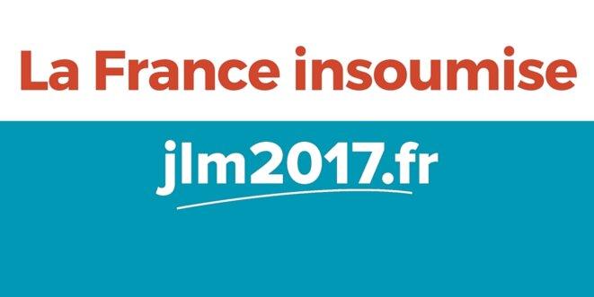 Logo de la France Insoumise lancé par JLM le 10/02/16