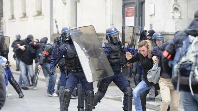 A Nantes, grande mobilisation (policière) pour les valeurs