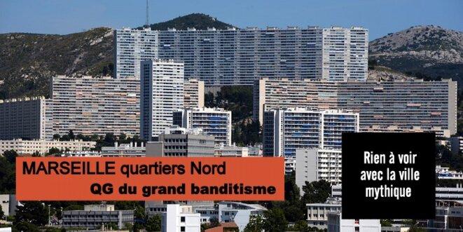 Marseille Nord, l'un des hauts lieux du grand banditisme © Pierre Reynaud