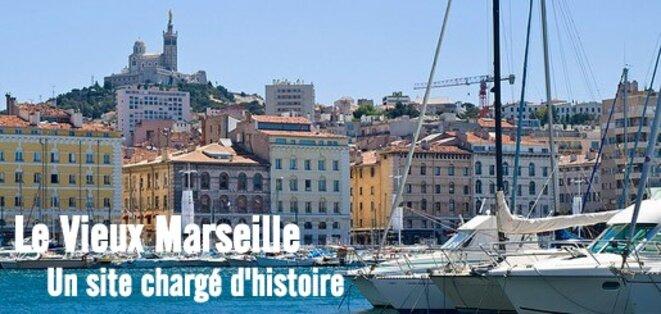 L'autres aspect de Marseille : la ville historique © Pierre Reynaud
