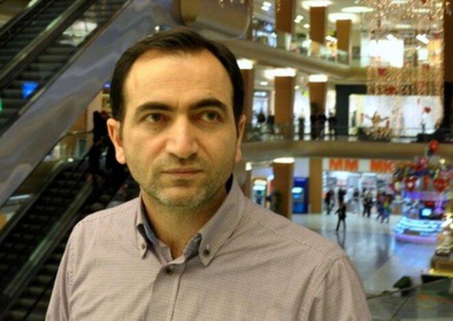 """Celil Sağir, actuel rédacteur en chef de """"Today's Zaman"""". © P.P."""