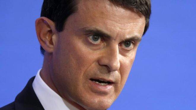 Manuel Valls, ex-député-maire d'Évry, a été ministre de l'intérieur de mai 2012 jusqu'à sa promotion à Matignon en avril 2014. © Reuters