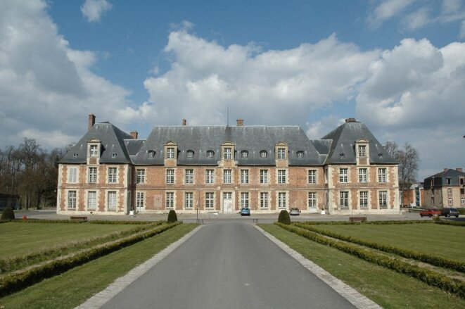 Le château XVIIe siècle du site d'AgroParisTech et de l'INRA à Grignon, dans les Yvelines (Site d'AgroParisTech).