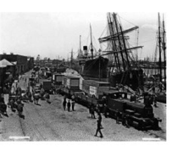 Le port de Buenos Aires, 1901