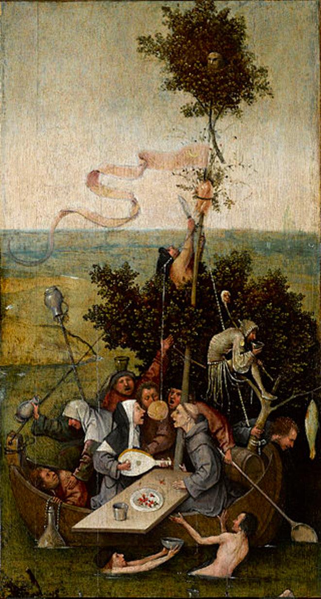 La Nef des Fous c. 1500-5, Louvre, Paris