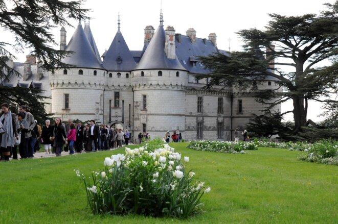 Château de Chaumont-sur-Loire, lors du Festival international des Jardins © F. Sabourin