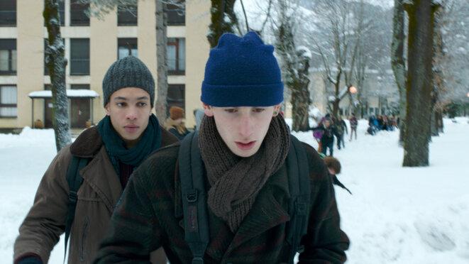 Damien (Kacey Mottet Klein) et Thomas (Corentin Fila). © (c) Wild Bunch Distribution