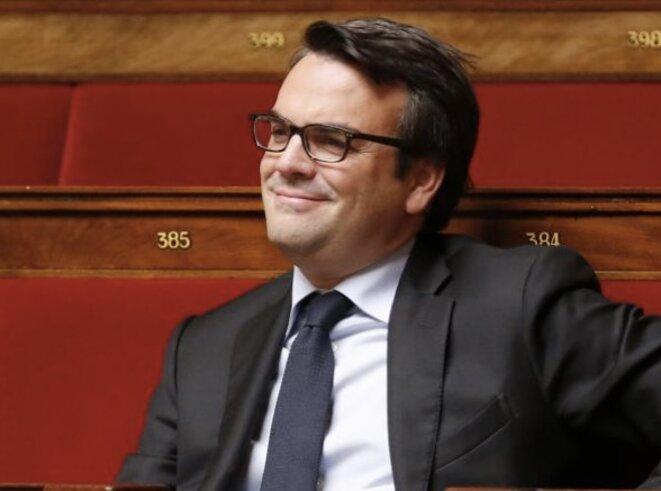 T. Thévenoud à l'Assemblée © Reuters