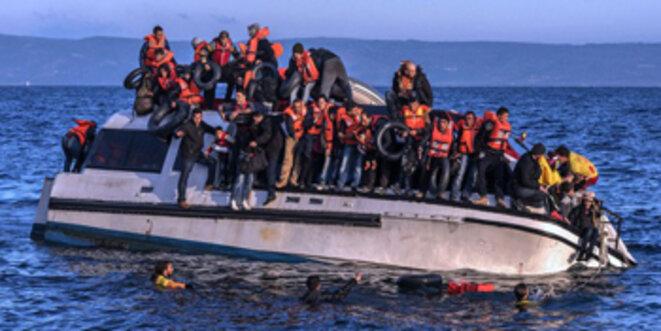 Ils pensaient être arrivés en sécurité - l'UE les renvoie dans la gueule du loup. © Ggia / Wikimedia Commons / CC-BY-SA 4.0int