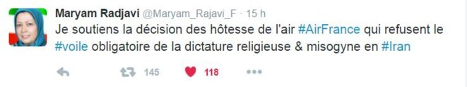 tweet-maryam-radjavi