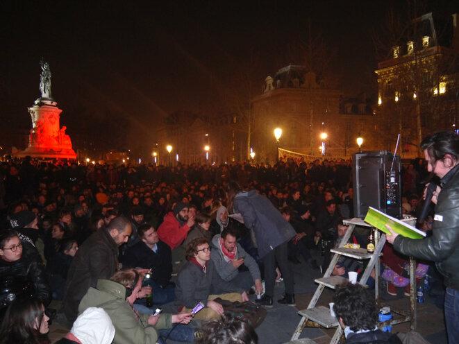 Place de la République 32 mars © © D.I.