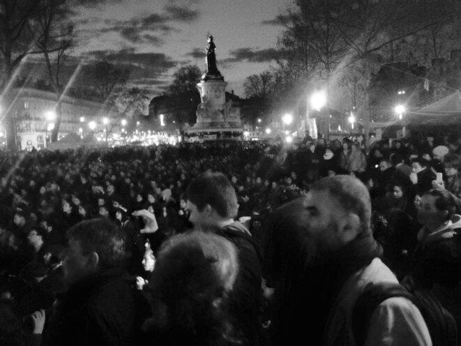 5 abril - Place de la République © Valentina Viettro
