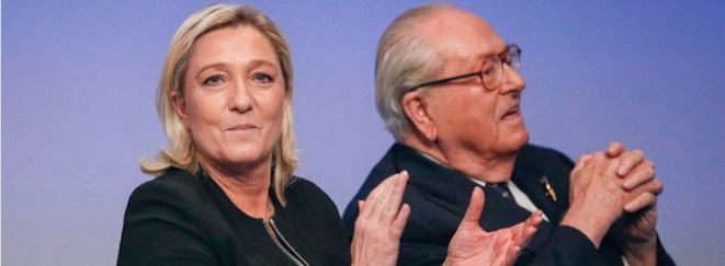 Les Le Pen. © Reuters