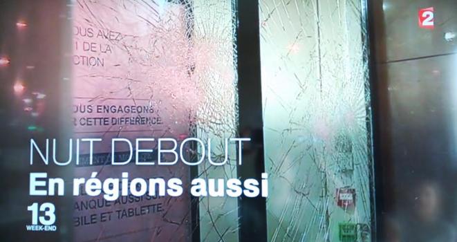 Présentation de NuitDebout au journal de France 2
