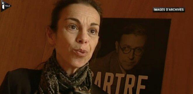 Agnès Saal © Capture d'écran I-télé
