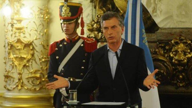 Le Président Macri est soupçonné de fraude fiscale par le juge Federico Delgado. © Diego Waldmann
