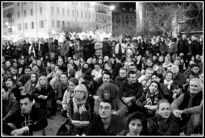 Nuit Debout Nice © Photo Nico Sanka