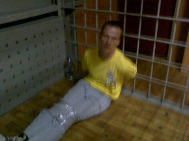 Ildar Dadin prisonnier politique © Grani.ru