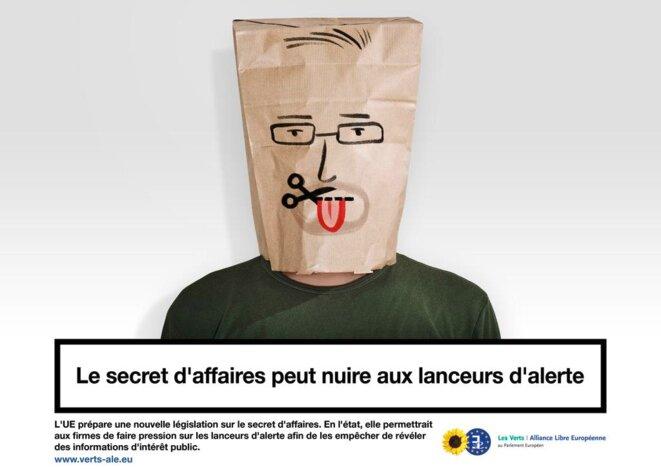 Lanceurs d'alerte © Verts/ALE