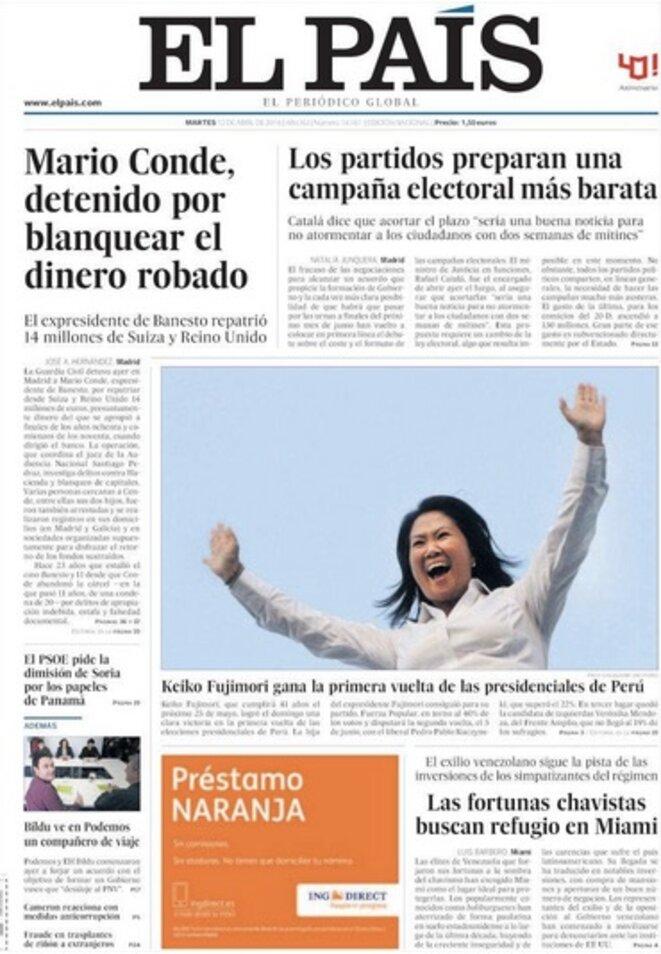 « Les partis préparent une campagne électorale meilleur marché », selon El Pais mardi.