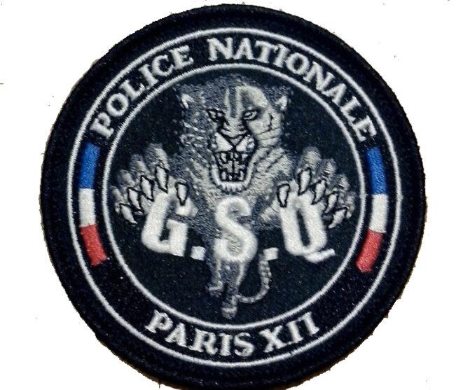 L'écusson du GSQ Paris XII. © DR
