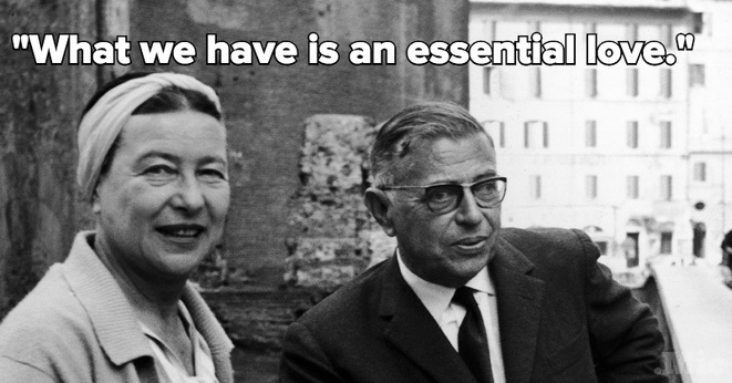 Beauvoir Sartre what we have is an essential love