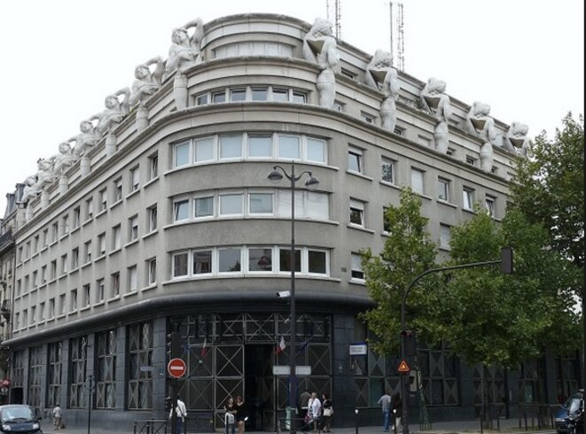 Commissariat du XIIe arrondissement © structurae.info