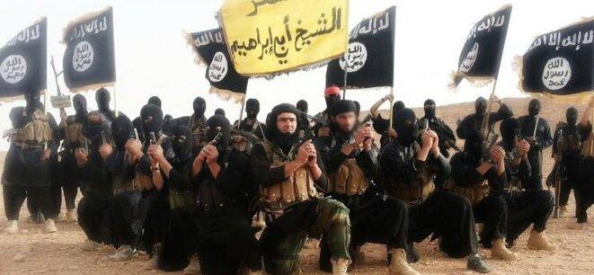 Armée de Daesh © Pierre Reynaud