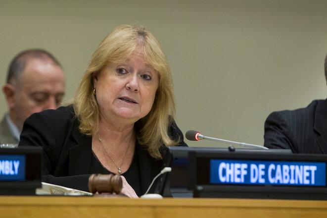 Susana Malcorra cuando era el número 2 de la ONU, 2015. © UN Photo