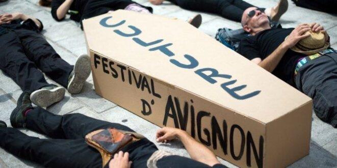 En 2003, l'annulation du Festival d'Avignon