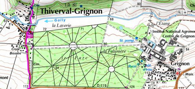 Le rû de GALLY à THIVERVAL-GRIGNON