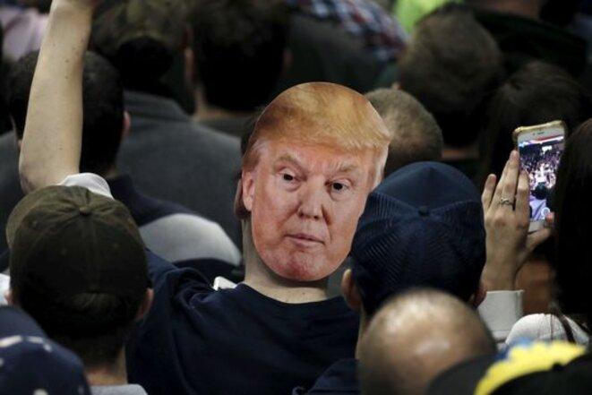 Un fan de Donald Trump. © Reuters