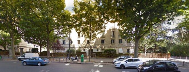 L'un des immeubles concernés, boulevard Suchet © Capture d'écran Street View