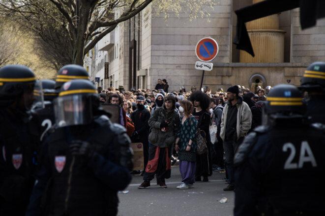 A Paris, le 14 avril. © Jérôme Chobeaux