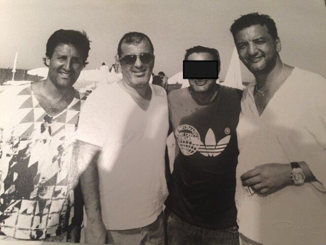 De gauche à droite : Arnaud Mimran, Samy Souied (assassiné) et Marco Mouly, les trois associés du CO2, selon les juges. © DR