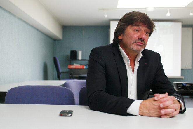 Michel Neyret, ancienne star de l'anti-gang français et ex-n° 2 de la PJ de Lyon. © Reuters