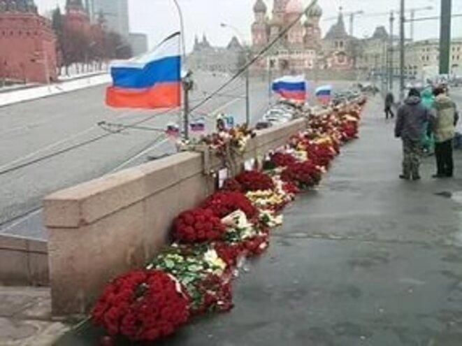 Pont Nemtsov avant l'agression © B, L!