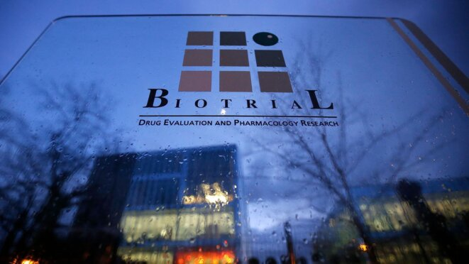 Siège de Biotrial à Rennes © REUTERS/Stephane Mahe