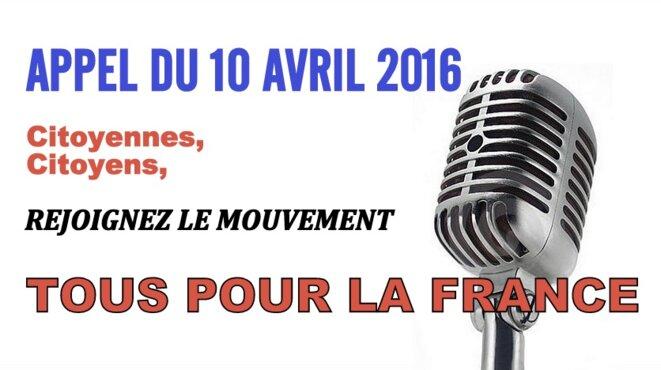 L'appel du 10 avril © Pierre Reynaud