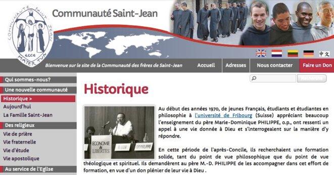 Capture d'écran © www.stjean.com