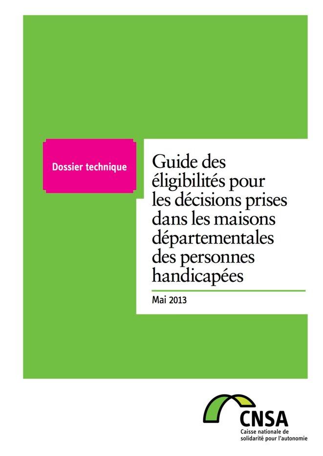 Guide CNSA des éligibilités