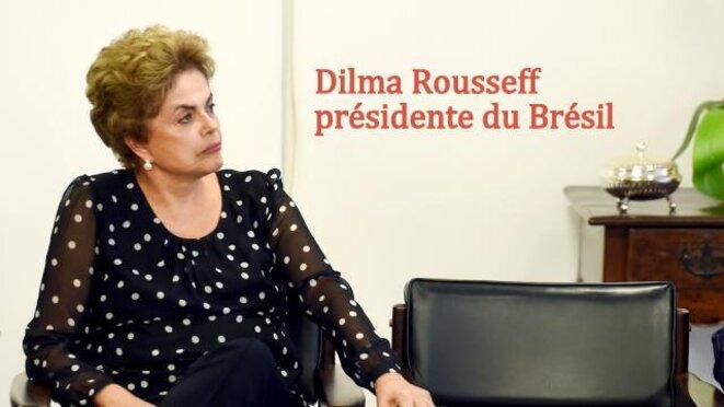 Dilma Rousseff, présidente du Brésil © Pierre Reynaud