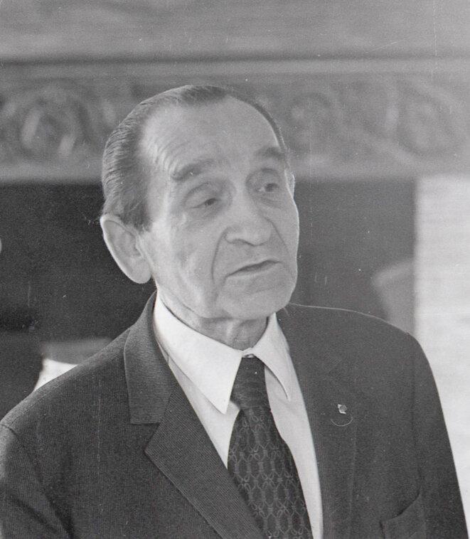 Pierre Mendès France à Louviers © Jean-Charles Houel
