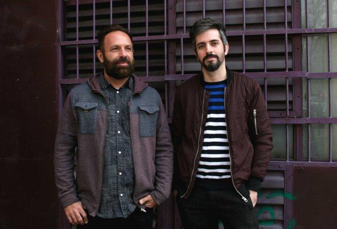 de gauche à droite : Sérgio Andrade et Fábio Baldo © Laura Morsch-Kihn assistée d'Ingrid Castellanos