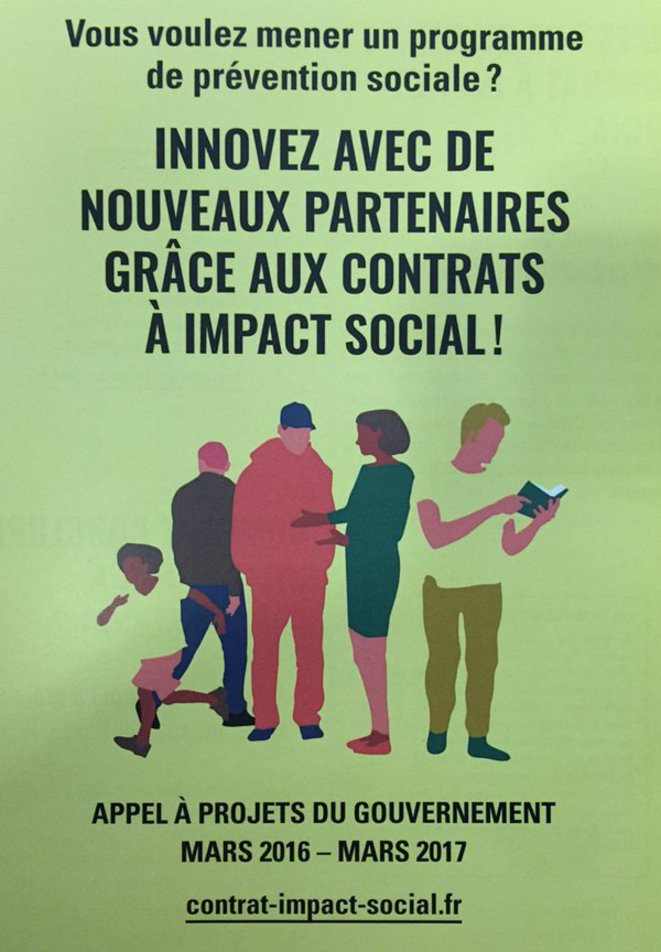 Social Impact Bonds, l'affiche © République Française
