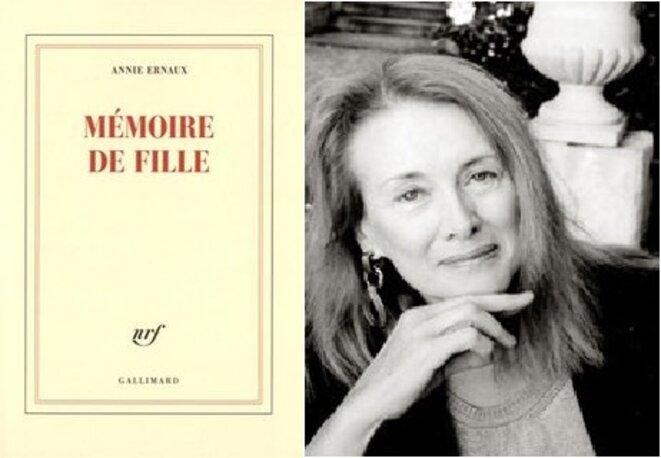 Annie Ernaux, Mémoire de fille, Gallimard 2016