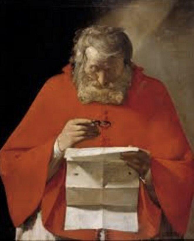 Saint Jérôme lisant une lettre (Prado)